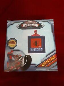 NEW Marvel Comics Ultimate Spider-Man Small Betta Fish Tank 1/2 Gal 1.9 L   USPS