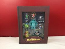 Disney Monsters INC Storybook Christmas Ornament Set New In Box