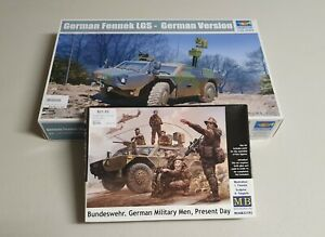Trumpeter No. 05534 | 1:35 German Fennek LGS - German Version & German Crew