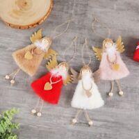 Fairy Cute Fluffy Plush Love Angel Pendant Hanging Christmas Tree Decoration