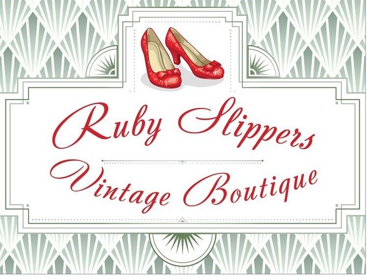 Ruby Slippers Vintage And Antiques