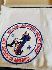 1964 Boy Scout World Jamboree Scarf in original box never worn