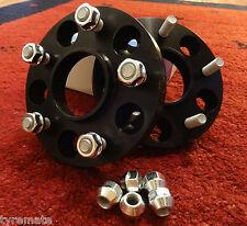 2 x SCC Spurverbreiterung CORVETTE C5 C6 18 mm (36 mm p. A) schwarz ELOXIERT Z06