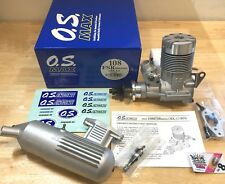 OS Max 108 FSR BX-1 Ring Nitro RC Engine with Muffler NIB