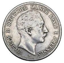 2 Mark 1898 Wilhelm II argent (537)