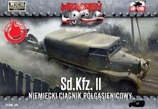 SD.KFZ 11 - WW II GERMAN HALFTRACK (WEHRMACHT MKGS)#41 1/72 FIRST TO FIGHT