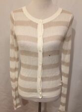 EXPRESS open loose Knit Cardigan Sweater Button Up Size Medium New $59