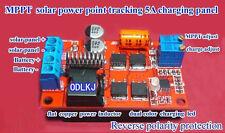 5A MPPT Solar Panel Regulator Controller Battery Charging 6V 12V 24V Auto Switch