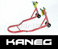 Front Stand under fork - RED - Motorcycle, Motorbike, Moto Race Paddock Stand
