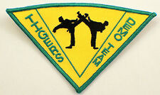 Martial Arts Embroidered Uniform Patch Tigers Demo Team Msgr