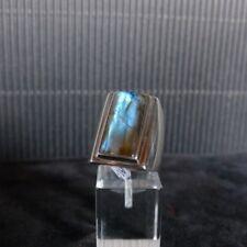 Ring Gr. 60 Silber 925 mit Labradorit