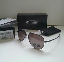 New OAKLEY ELMONT L Matte Black w/ PRIZM Daily POLARIZED Sunglasses crosshair ti