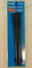 Rail HO 1/87 PECO Streamline Sl-89 - aiguillage Long gauche Insulfrog