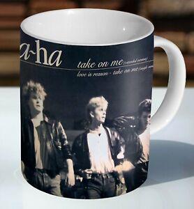 A-ha Take on me  Ceramic Coffee Mug - Cup