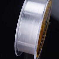 Fluorocarbon Fishing Line 50M/100M/150M  4.4LB-35.2LB Color Clear Monofilament