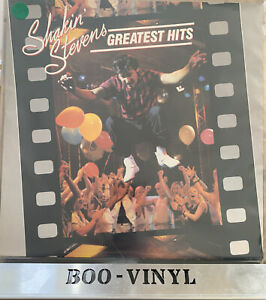 "Shakin' Stevens ""Greatest Hits"" vinyl LP Epic EPC 10047 UK 1984 EX / VG+"