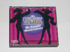 Readers Digest It's Showtime The Essential Musicals Collection 4 CD Set. 2009.