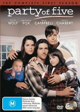 Party Of Five: Season 1 (DVD, 6-Disc Set)  Region 4 - Very Good Condition