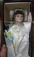 Danbury Mint Brides of America Doll Gay Nineties Annie with Coa and Tags Mint