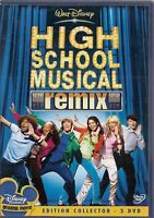 2 DVD Zona 2 Coleccionista Walt Disney High Escuela Musical Remix