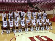 INDIANA HOOSIERS I.U. BASKETBALL 2012 TEAM ROSTER PHOTO 8x10 PICTURE GO BIG RED