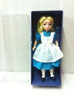 Disney Porcelain & Cloth Doll ALICE IN WONDERLAND MIB