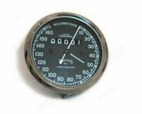VINTAGE SMITHS 0-160 KMPH Black Speedometer ROYAL ENFIELD BSA NORTON
