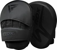 RDX Boxing Focus Pads Muay Thai MMA Kick Strike Curved Arm Punching Shield Mitts