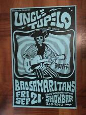 Uncle Tupelo Poster @ The Showbar Wilco, Son Volt, Jeff Tweedy Jay Farrar