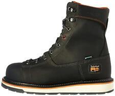 "Timberland PRO Men's Gridworks 8"" Alloy Safety-Toe Waterproof, Black, Size 8.0 c"