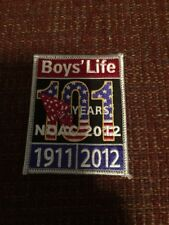 2012 NOAC Boys' Life Patch MINT! OA National Order of the Arrow Conference WWW