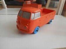 Big Tomte Laerdal Stavanger Norway VW Volkswagen Transporter T1 Pick-up - Orange
