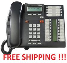 Nortel Norstar T7316e Charcoal Phone T7316 e NT8B27JAAA FREE SHIPPING