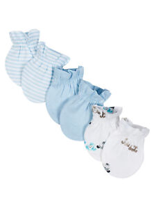 Wonder Nation Baby Boys 3 Pack Mittens NEW Size 0-3 Months Super Cute Puppies