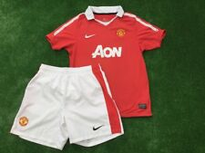 Manchester Utd Fútbol Camisa y pantalón corto Casa Nike Talla 12-13 años Chicos Grandes