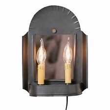 Innkeeper's Sconce in Smokey Black Country Primitive Lighting