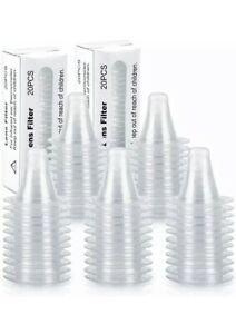 100Pcs Ear Thermometer Cover Lens Filters Probe Cover Caps For Braun Thermoscan