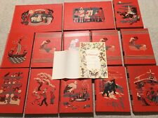 Vtg CHILDCRAFT Books w/Rare GIFT PAGE & THANK YOU NOTE from FIELD ENTERPRISE INC