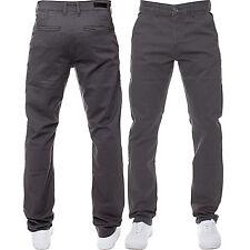 Mens ENZO Designer Fashion Chinos Stretch Skinny Slim Fit Jeans Pants All Sizes