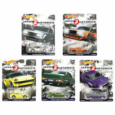 2018 Hot Wheels Car Culture Japan Historics 2 - Set Of All 5 - *Free Shipping*