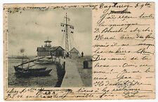 Resque Station in Taganrog Harbour, Sea of Azov, Russia, sent in 1902 to France