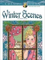 Adult Coloring: Creative Haven Winter Scenes Coloring Book by Marty Noble (2014,