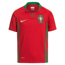 Portugal Nike Football Kids Home Shirt Blue Childrens Short Sleeve Age 6-8 Years