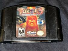 Turok 3: Shadow of Oblivion (Nintendo 64, 2000 Cleaned / Tested / Authentic N64