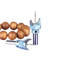 1PC Carbide Woodworking Router Bit Buddha Beads Ball Knife 6-30mm Woodworking