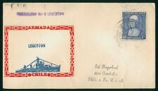 Mayfairstamps chile 1950s Leucoton Ship Cachet Cover wwp81935