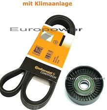 V-RIBBED BELTS+Tension Pulley OPEL ASTRA G Vectra B Zafira 2.2 i 16V NEW