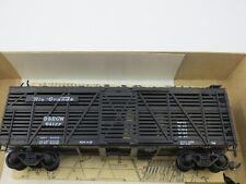 HO Scale Athearn 1777 Denver & Rio Grande Western 40' Stock Car Built