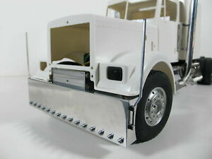 Aluminum Front Bumper + Cross member Mount + Pole Tamiya 1/14 King Grand Hauler