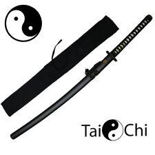 Taichi Black Japanese Korean Katana Practical Training Sword (SG-TC)